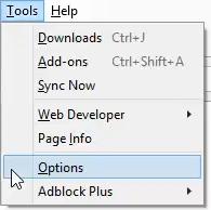 firefox-tools-options