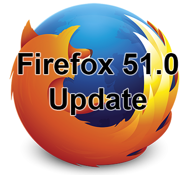 Firefox 51.0 update